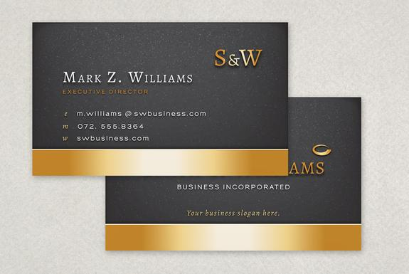 Executive Business Card Template Sample  Inkd  On Wookmark
