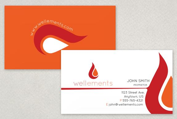Flame elements business card template sample inkd 133838 on wookmark flame elements business card template sample inkd accmission Images