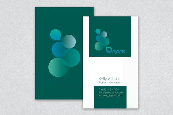 Organic Products Business Card Template Sample | Inkd