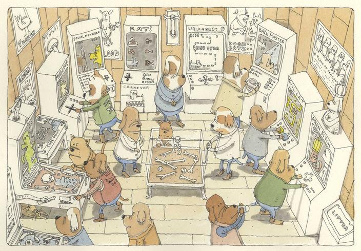 Where dogs go to play by MattiasA - Mattias Adolfsson - CGHUB