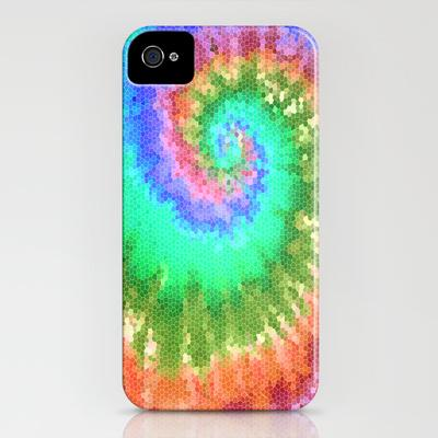Tie Dye Wave iPhone Case by Ally Coxon | Society6