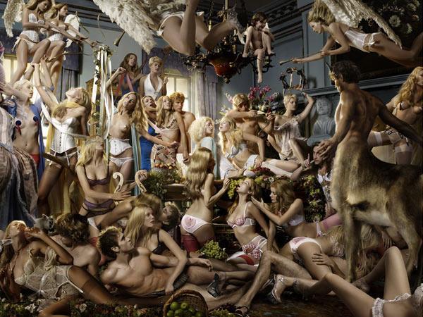 Juxtapoz Magazine - Provacateur Tim Bret Day | Erotica