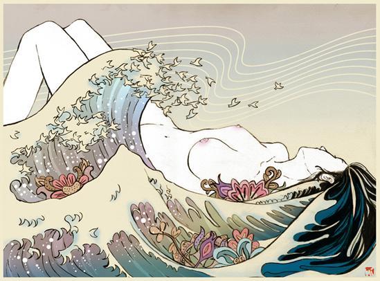 Juxtapoz Magazine - Gallery - Category: Mayumi Haryoto - Image: Mayumi Haryoto_14