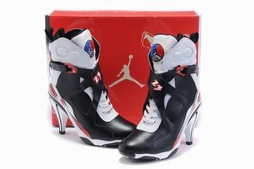 jordan 8 black white red for cheap