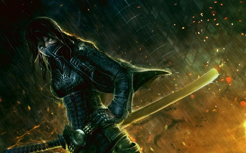 women,rain women rain ninjas katana desktop artwork swords 1920x1200 wallpaper – women,rain women rain ninjas katana desktop artwork swords 1920x1200 wallpaper – Art Wallpaper – Desktop Wallpaper