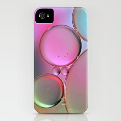 Oil On Water Pastels iPhone Case by Ally Coxon | Society6