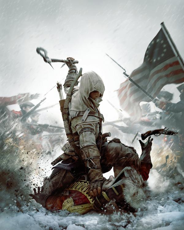 Assassin 's Creed 3 sur Art numérique Servi