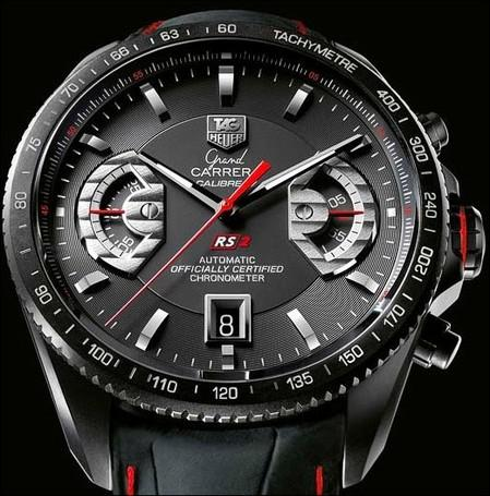PW, the Wristwatch Guide: TAG Heuer Black Carrera Preview
