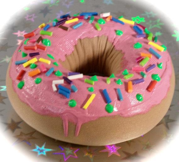 Squishy donut by WhackyMochaKao on Etsy