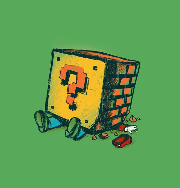 Loose Brick Art Print by Budi Satria Kwan | Society6