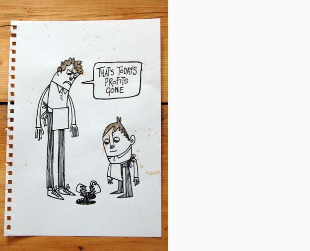 Chris Dickason, Illustration } Sketchbook