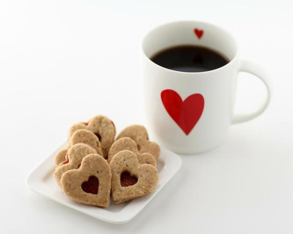 White coffee cookies 1280x1024 wallpaper – red,love love red white