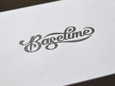 Logotype Sketch by Ryan Hamrick