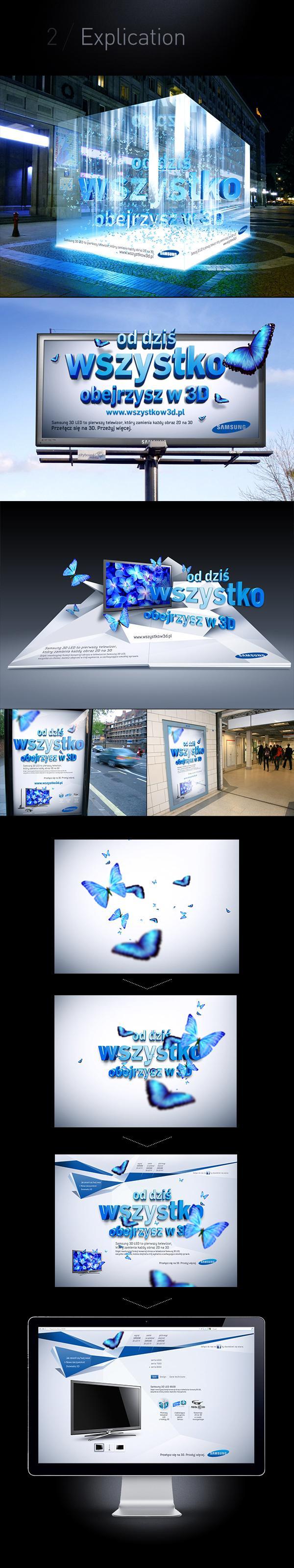 Samsung 3D TV sur le réseau