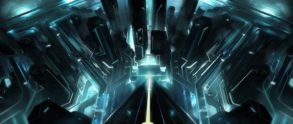 Tron Legacy - Vyle-art - sur le réseau