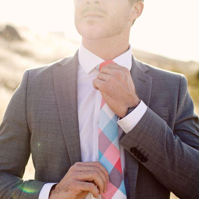 Fancy - Handmade Plaid Tie by Mosaic