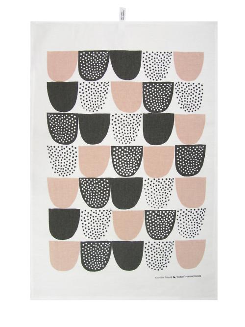From Scandinavia with love - design & style (Sockeri tea towel by Finnish Kauniste.)