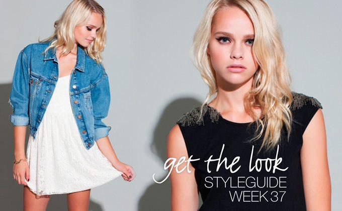 Get the look! Styleguide uke 37