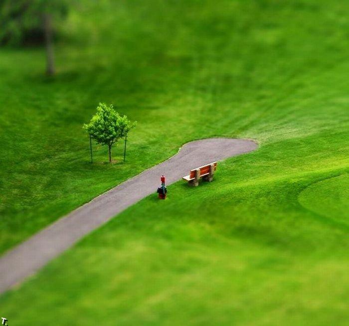 Тилт шифт фотография. Потрясающие кадры (67 фото) » Триникси - Вселенная Развлечений. Картинки, приколы, видео, флэш