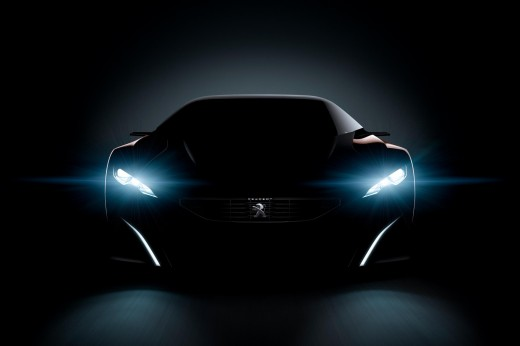New photos Peugeot Onyx - Autoshow - Cardesign.ru