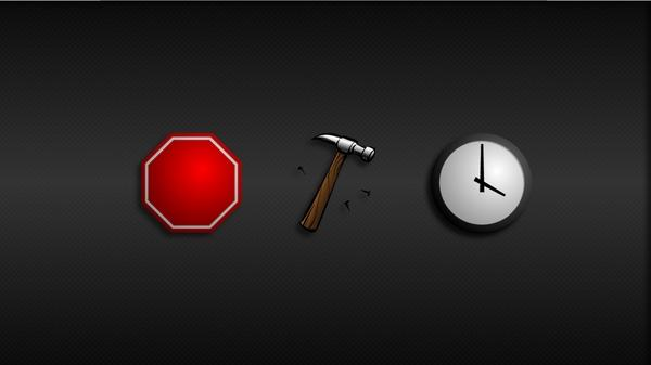 clocks,hammer clocks hammer hammertime 1920x1080 wallpaper – Red
