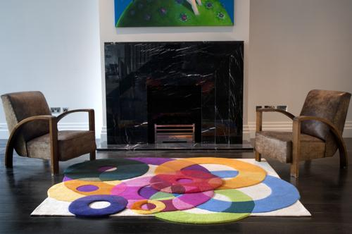 Deconstruction: Sonya Winner's Bubble Outline Rug | Design Milk