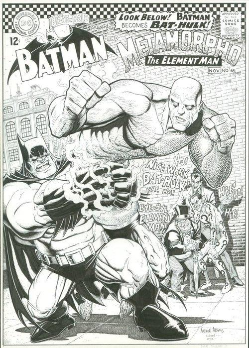 BENDIS!, Brave and the bold cover recreation.  Batman and...