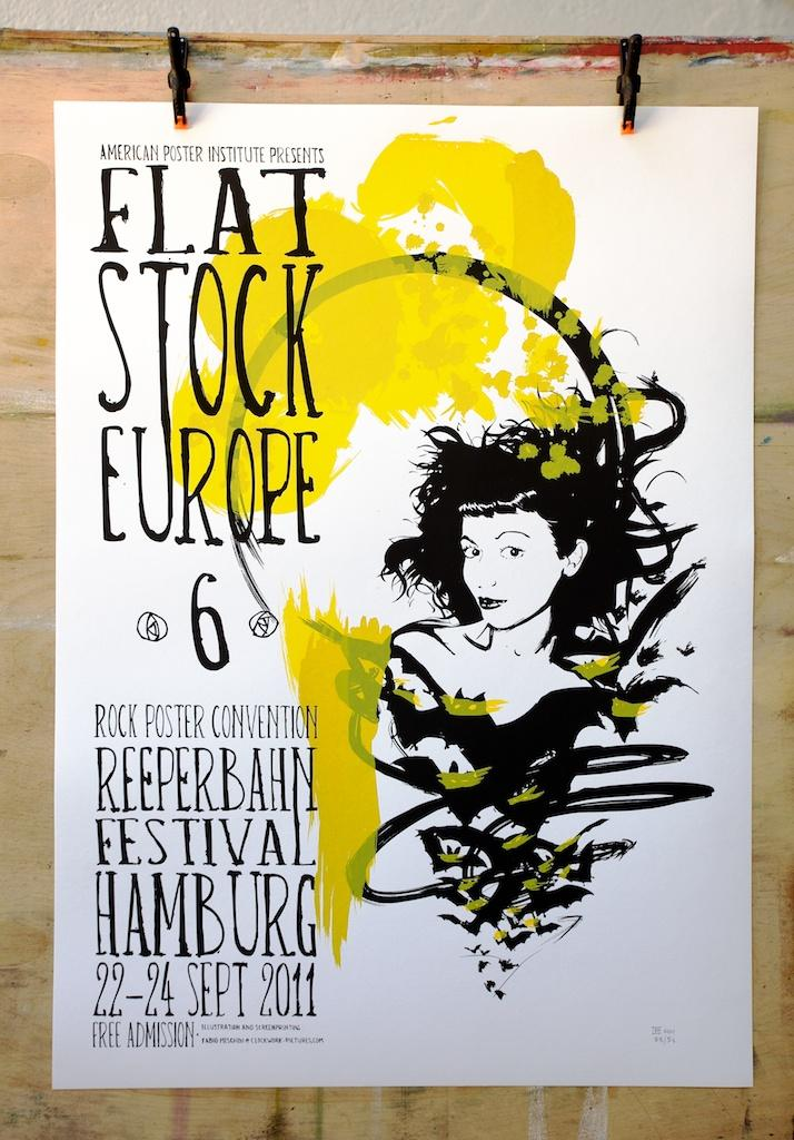 'Flatstock europe 6' by Clockwork Pictures - Fine Arts from Italy
