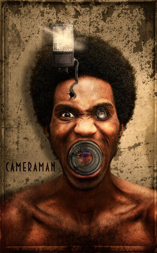 Cameraman by Crille | Shadowness