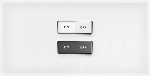 Clean On/Off switch | Ui Parade – User Interface Design Inspiration