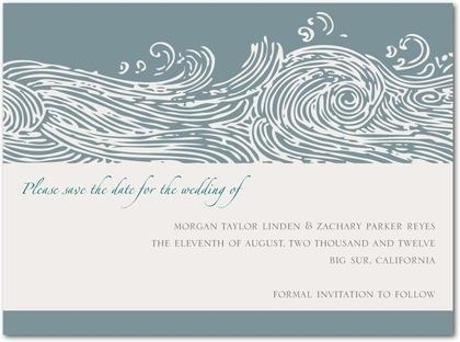 invites for beach wedding