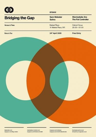 BTG Poster Series on the Behance Network — Designspiration