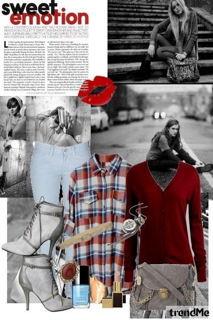 bordo... - City Kolekcija - Nikolina Dzo - trendMe.net