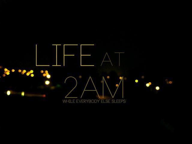 life at 2am | Flickr: Intercambio de fotos