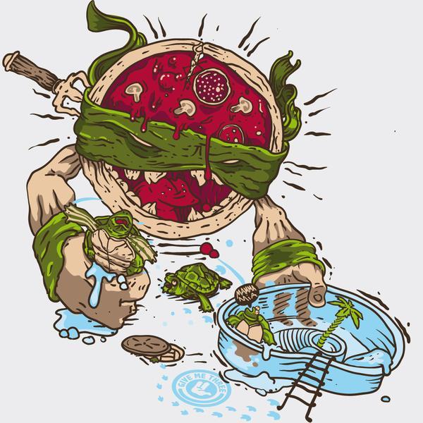 Vengeance Pizza Ninja calamity | Feniks Grafix