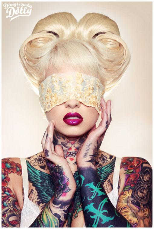 25 Dangerous Dollys Fashion Photographs - Modern Approach, Classic Pinup and Disturbing
