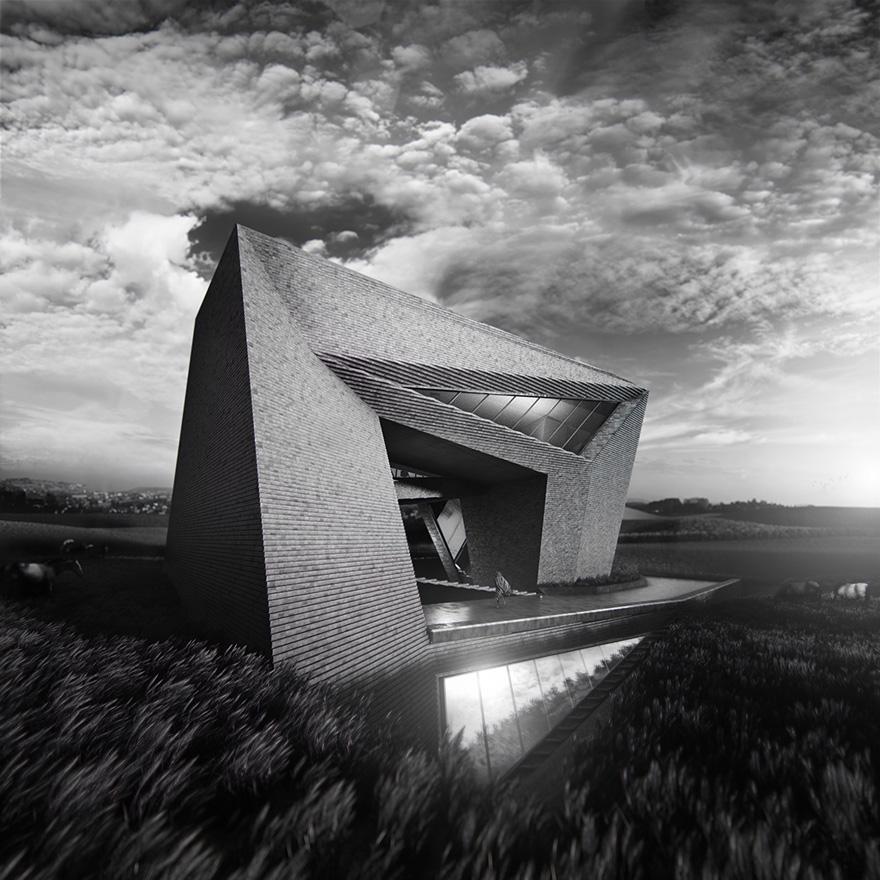 Maison à Ordos - Architecture - Creattica