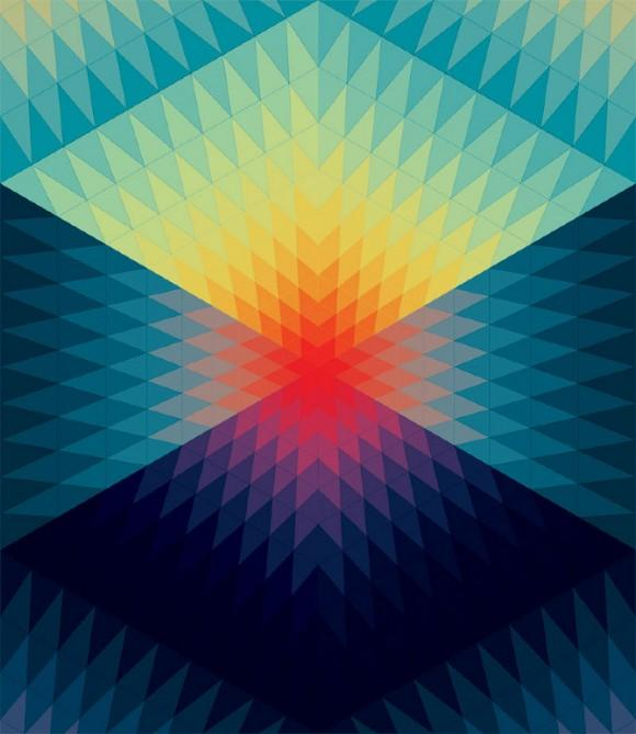 Andy Gilmore - A master of colour and geometric composition | The Hatched Blog