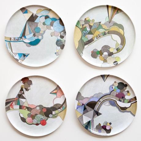 Poketo The Middletons Plate Set