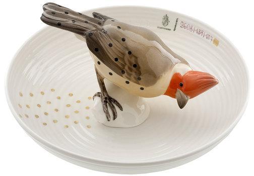 Nymphenburg · Tierschalen · Schale mit Vogel