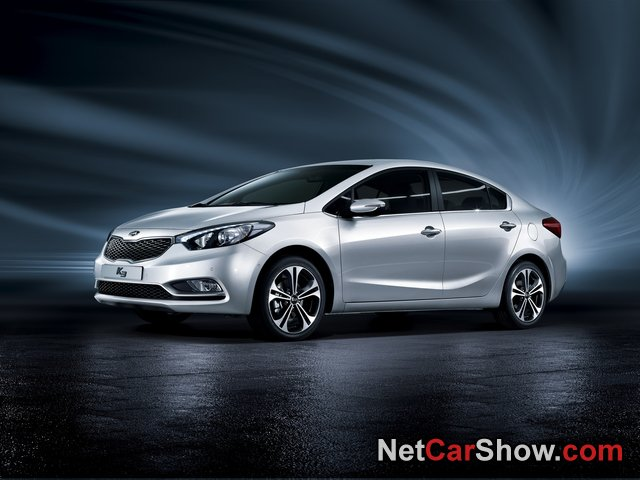 Kia Cerato wallpaper # 01 of 05, Front Angle, MY 2014, 800x600