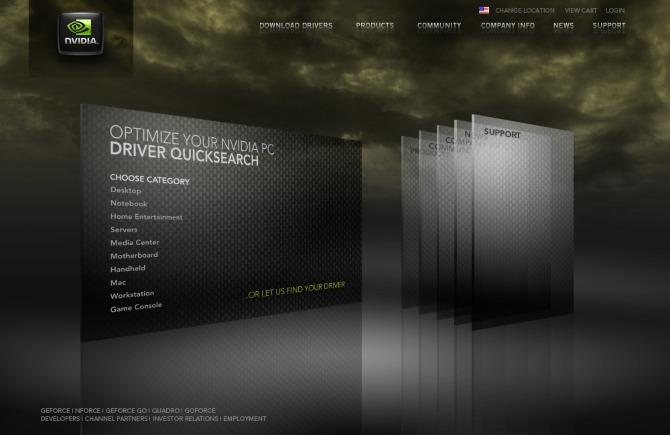 Nvidia Concept - Tofslie Inc | Le studio de création d'Edwin Tofslie - Direction de création, direction artistique, Idées, conception, interactive, Web et Créateur de Jerky fine.