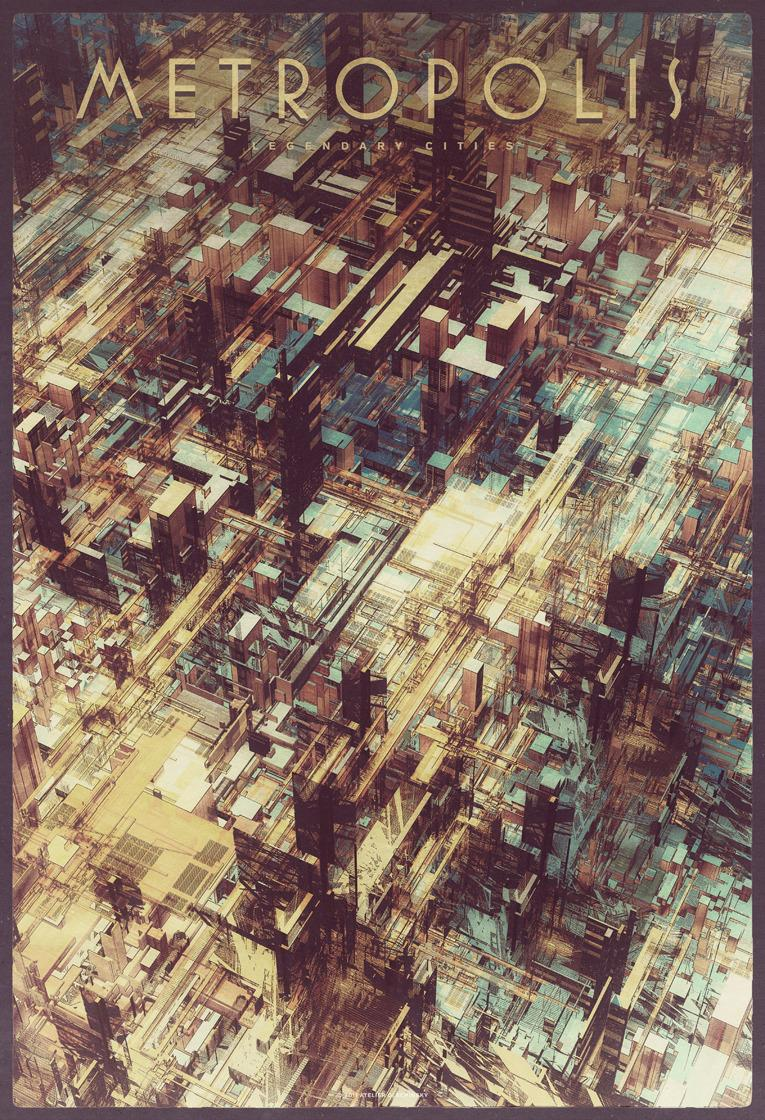 Legendary Cities - atelier olschinsky