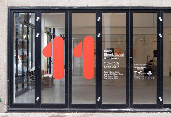 Creative Review - Build's Blood, Sweat and 11 Years exhibition