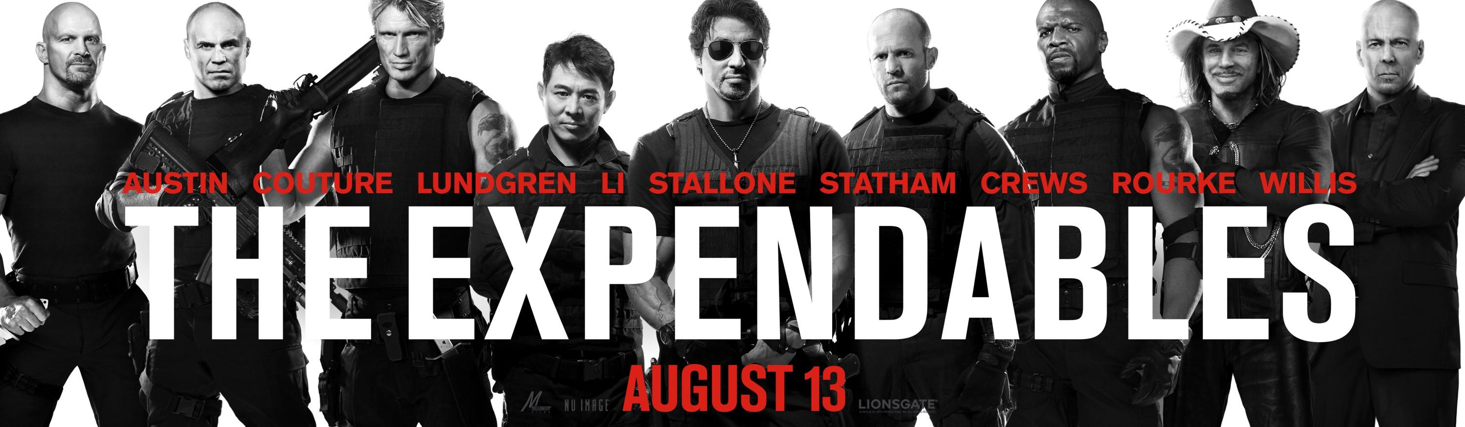 The Expendables: Extra Image Grand Movie Poster - Internet Movie Poster Gallery Prix