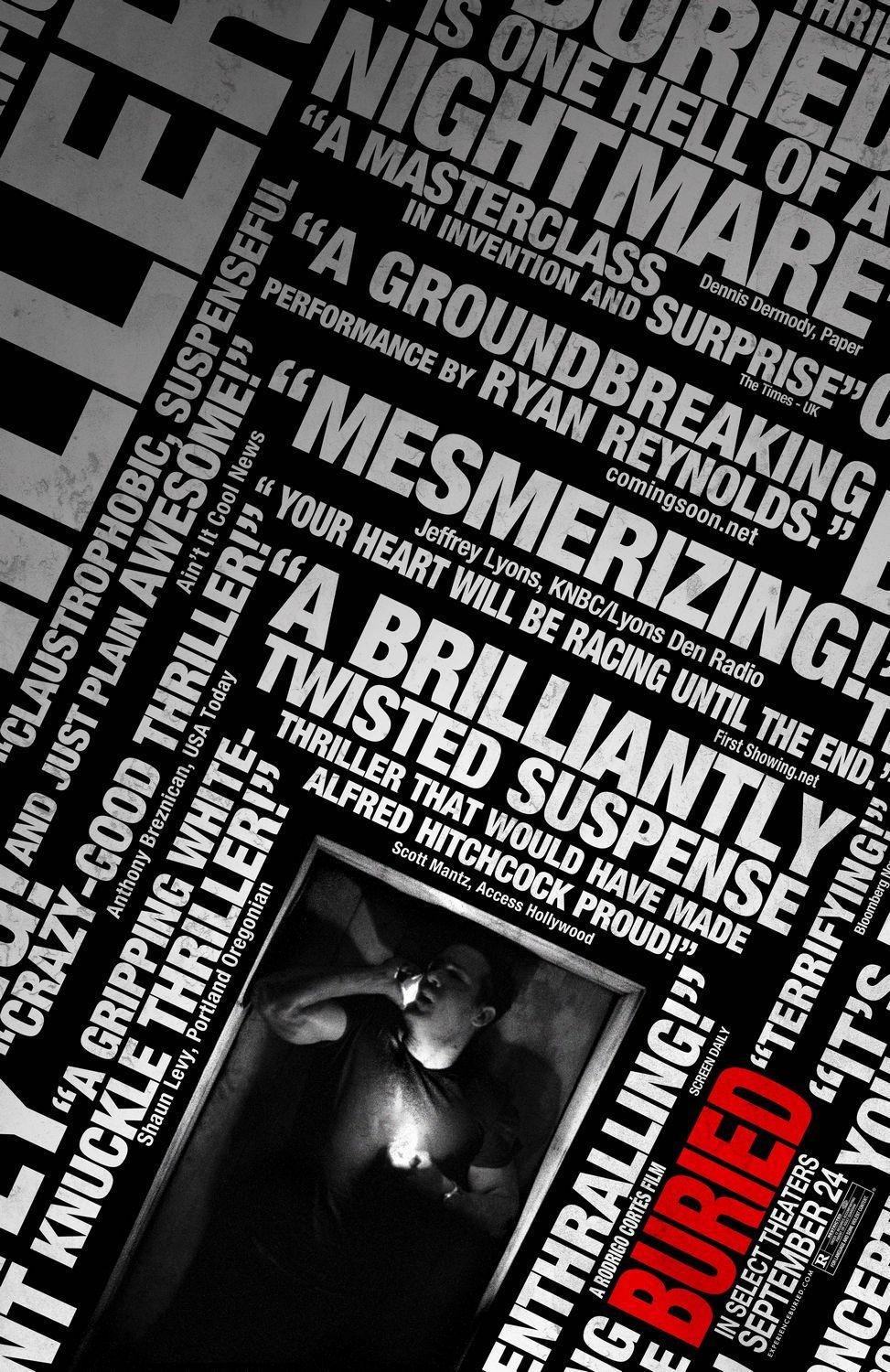 Buried: Extra Large Image Movie Poster - Internet Movie Poster Gallery Prix