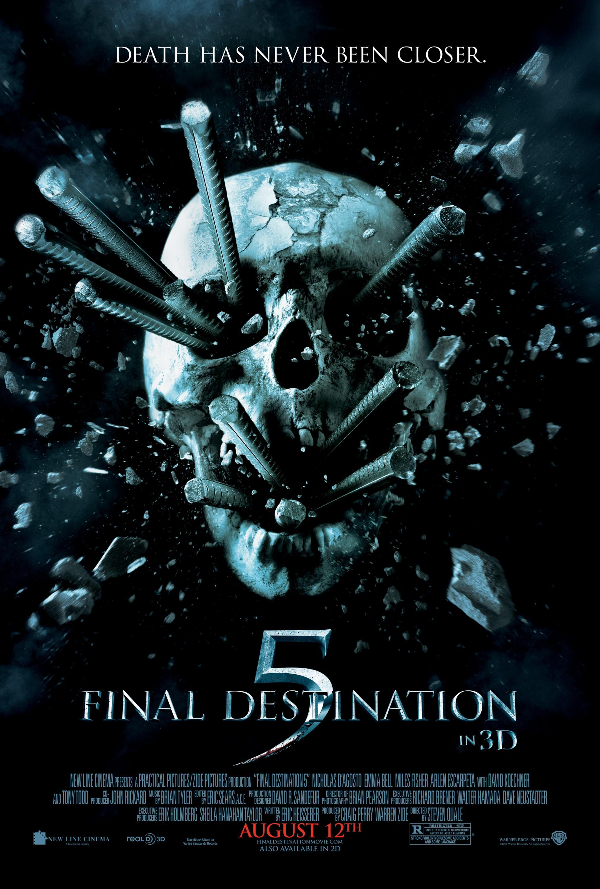 Destination Finale 5: Mega Image Sized Movie Poster - Internet Movie Poster Gallery Prix