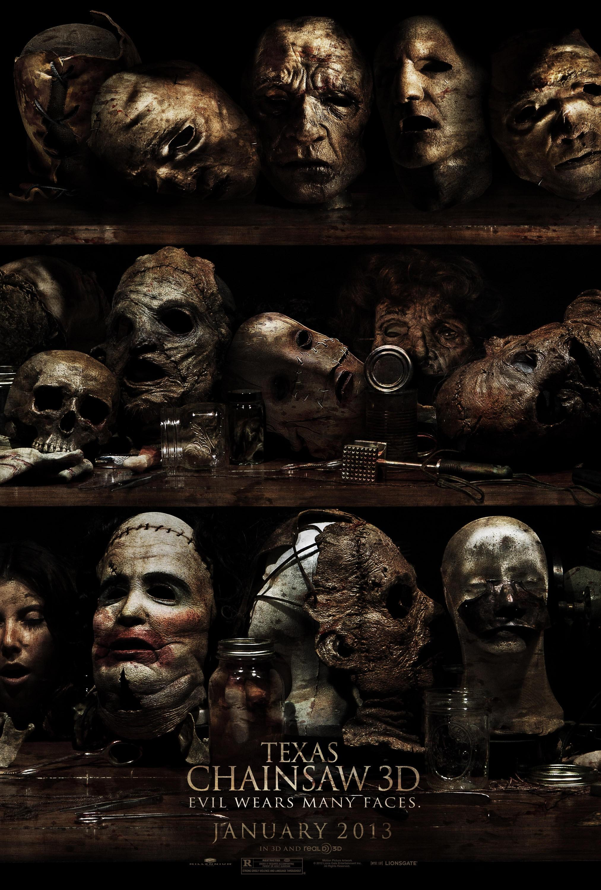 Texas Chainsaw 3D: Mega Image Sized Movie Poster - Internet Movie Poster Gallery Prix