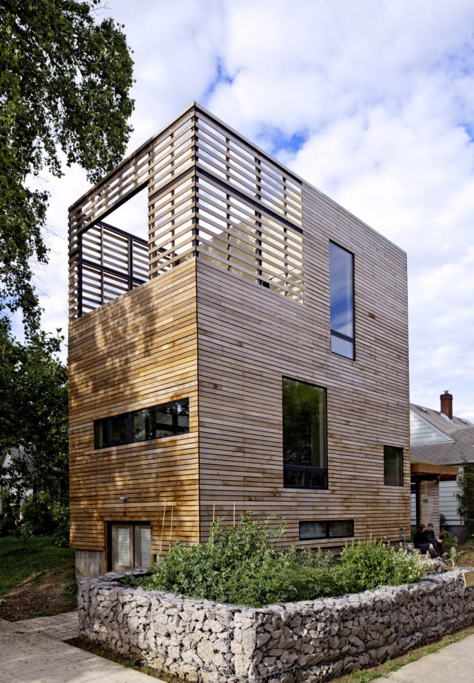 Pictures - Harpoon House - Harpoon House from the street. Photo: Lincoln Barbour - Architizer - Empowering Architecture: architects, buildings, interior design, materials, jobs, competitions, design schools