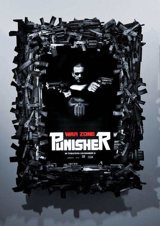 Punisher: War Zone Movie Poster # 6 - Internet Movie Poster Gallery Prix